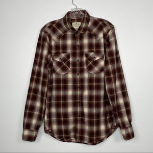 American Eagle Outfitters Seriously Soft Plaid Top